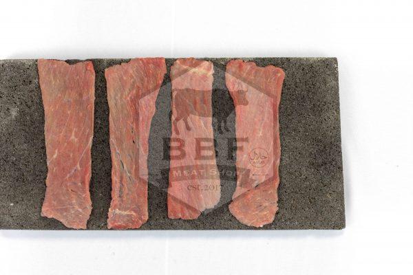 daging iris beef slice less fat